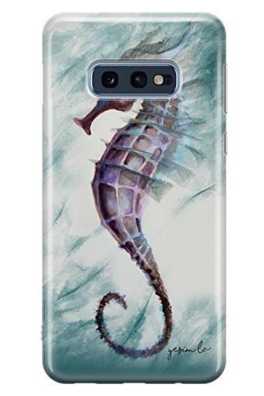 Lopard Samsung Galaxy S10E Kılıf Denizatı Kapak Renkli